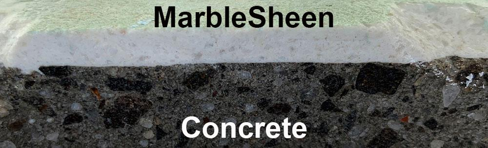 Marblesheen render concrete swimming pool asbestos