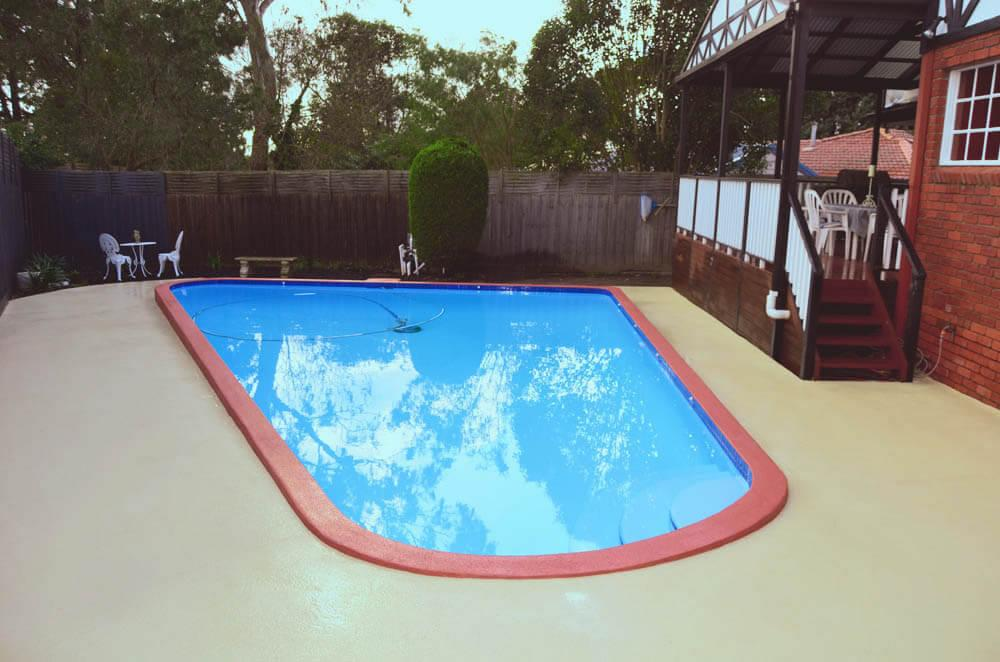 Painted Pool Cleaning care guide Maintenance instructions