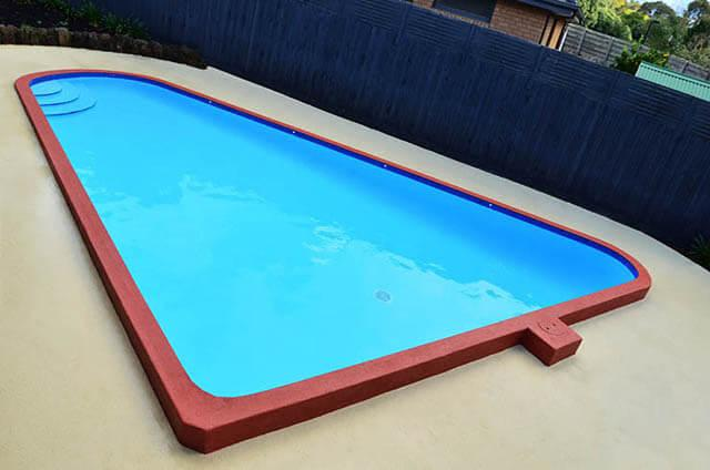 Services local pool renovations for Painting aluminum swimming pool coping