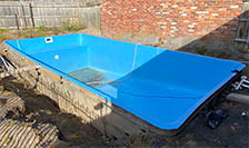Removal Swimming Pool Fibreglass