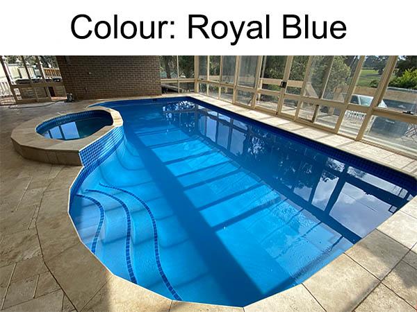 Royal_Blue_Colour_Swimming_Pool_Surface Swimming Pool Resurfacing - Local Pool Renovations