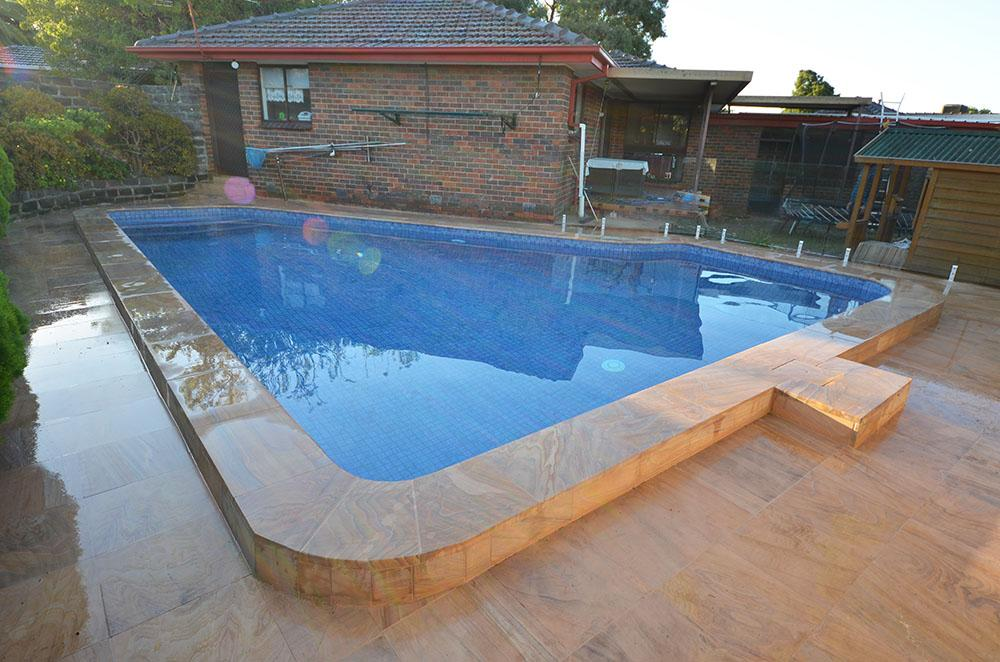 Fully Tiled Pool Surface