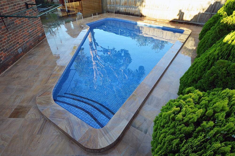 Tiling Pool Surface