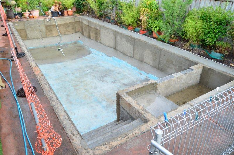 Pool Surrounds Before