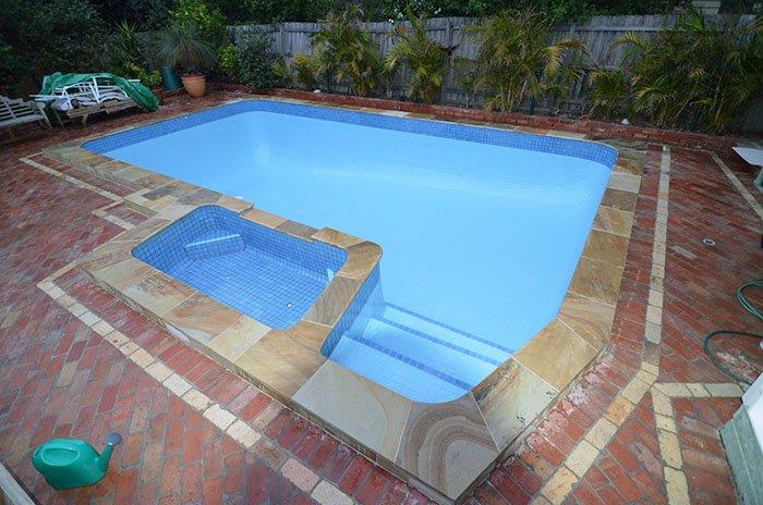 Fully tiled swimming pool renovations tiling for Swimming pool ceramic tile