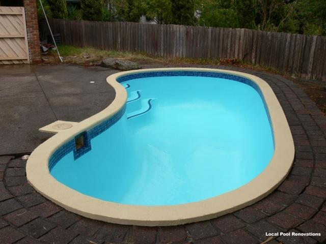 Repainting swimming pools melbourne pool experts - Pool restoration ...