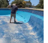 Swimming pool painting Melbourne